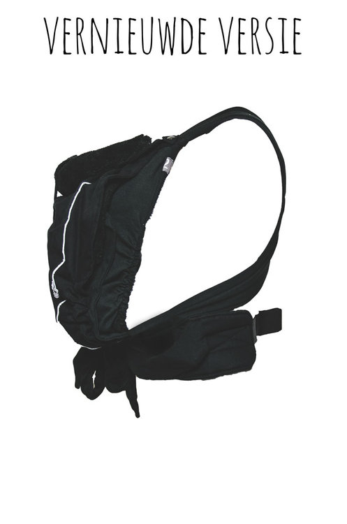 Kiss & Carry draagzak/sling combinatie Black