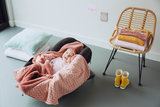 Wrap Blanket Trendy Wrapping (90 x 110cm) Dusty Rose_