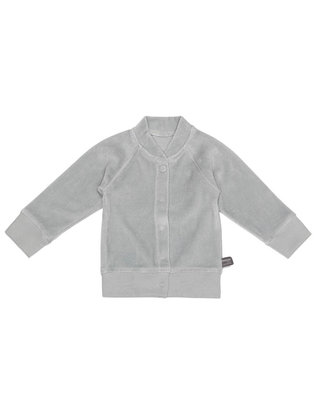 velour vestje  Grey