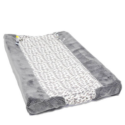 Changing pillow Cover Happy Dressing (45 x 70cm) Frost Grey
