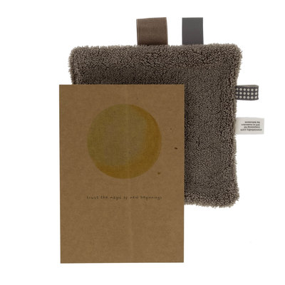 Giftcard set + gift Warm Brown