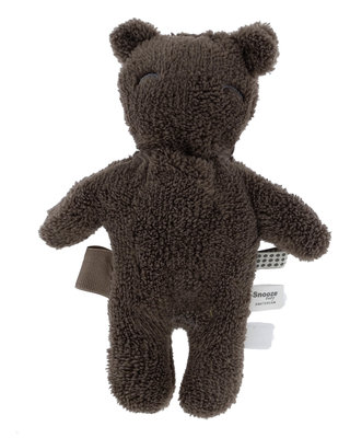 knuffel Billy Bear (van gerecycled materiaal) Warm Brown