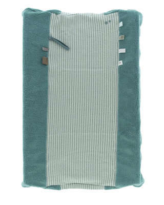 ORGANIC Aankleedkussenhoes (Happy dressing) 45 x 70cm Smokey Green