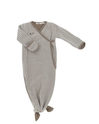 ORGANIC new born cocoon 3-6 maanden Warm Brown
