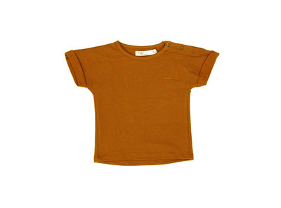 t-shirt short sleeve - colour: Toffee SS22