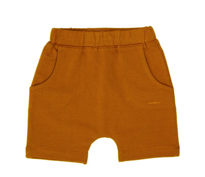 baggy short - colour: Toffee SS22