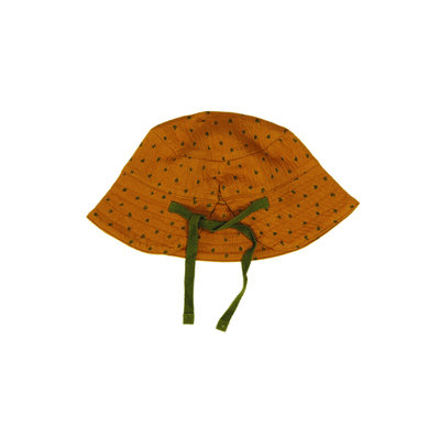 summer hat - colour: Toffee houses SS22