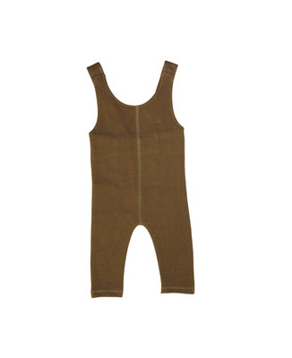 suit without sleeves - colour: Brown SS22