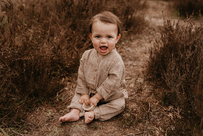 fashionable suit for big girlies - colour: Brown square SS22