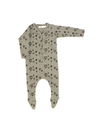 suit Sky in softest material  - colour: Taupe balloon SS22