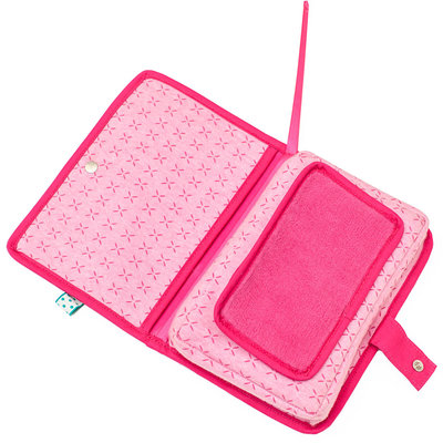 Baby wipes pouch Funky Pink Funky Pink