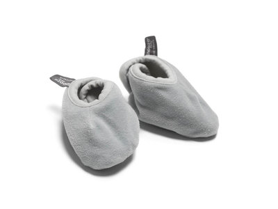 velour slofjes Grey